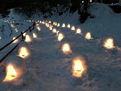 2019年2月 湯西川温泉かまくら祭ライトアップ&とちおとめいちご狩り食べ放題