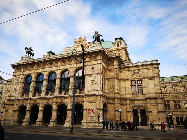 週末に留学先から訪れた壮大かつコンパクトな街ウィーン。<br />女子ひとりでも十分楽しめる旅でした!