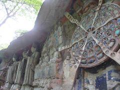 5歳の娘を連れてGW四川省+重慶10日間の旅2-何とも見事な大足宝頂山石刻