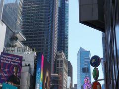 ニューヨーク&カリブ海&マイアミの2週間 ① ~出発・タイムズスクエア~