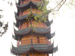 鎮江観光 ② 雨の金山寺