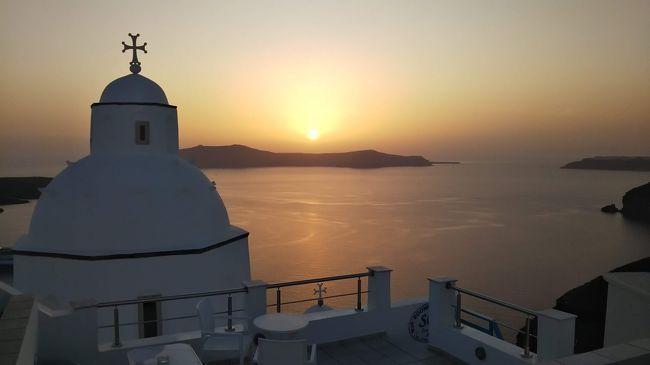 海外一人旅第18段はギリシャの眩しい青い空に感動 - 3日目(サントリーニ編後半)
