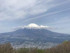 金時山から眺める富士山