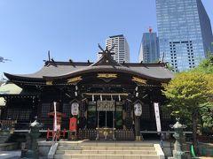 新宿周辺★神社巡りとタピオカドリンク