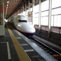 2019年5月/廃止予定上越新幹線2階建てMAX&4月オープン「雪の花 」(越後湯沢)訪問