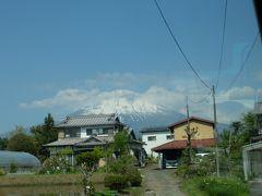 富士山、河口湖駅、下吉田駅