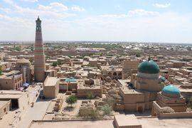 ウズベキスタン・トルクメニスタンの旅(3)~ヒヴァ1 ミナレット巡りとパフラヴァン・マフムド廟~