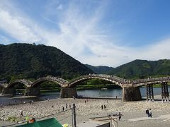 【2017年夏 広島山口帰省】山口県の錦帯橋へ