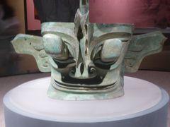 5歳の娘を連れてGW四川省+重慶10日間の旅8-不思議なものがいっぱいの三星堆博物館