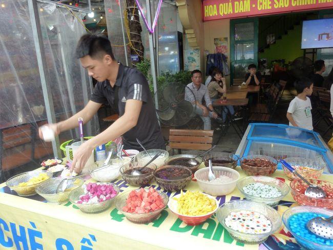 GWに同僚と4泊5日の初ベトナム旅行。<br />思い出ベスト1 すべてが美味しかった♪<br />   ベスト2 バイクと車がごちゃごちゃしていた。道路を渡れた!<br />   ベスト3 人々の活気と温かさ。知人宅も訪問し、温かく迎えていただきました。<br />1日目 移動<br />2日目 ハノイ市内観光<br />3日目 ハロン湾<br />4日目 再びハノイ市内観光<br />5日目 さようなら~<br />