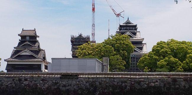 再建途上の熊本城の状況と友人を訪ねがてら熊本と博多に行きました。熊本地震からすでに3年経過しましたが、いまだ傷跡がのこり痛々しいです。ただ天守閣は今年再建されるとのことで復興のシンボルになってほしいです。食事はお昼は熊本ラーメン黒亭、夜は馬刺、夜遅く博多に移動しラーメン、翌日はてんぷらにもつ鍋と九州を満喫しました。