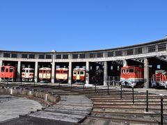 鉄道文化遺産を次世代へ伝える「津山まなびの鉄道館」~扇形機関車庫と転車台2019~(岡山)