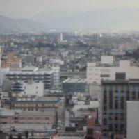 富山市役所からの景色