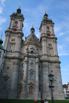 スイス7日目①ザンクトガレンの散策と修道院付属図書館