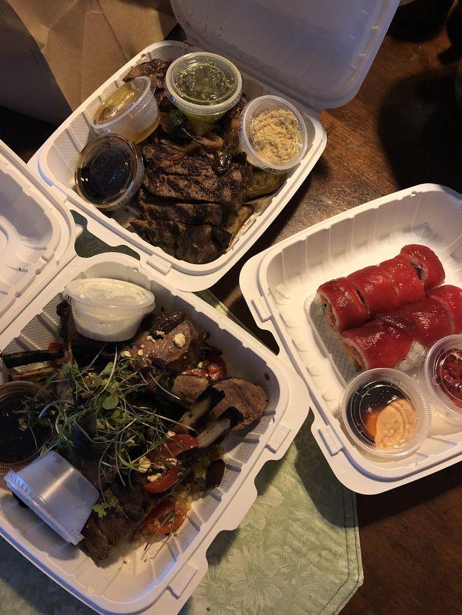 6600 Kalanianaʻole Hwy, Honolulu, HI 96825<br />ロイズ1号店、ハワイカイ タウンセンター<br />週末は、とても人気があり<br />電話で注文して 取りに行く事に<br />部屋でゆっくり頂きました。<br />お寿司や、ステーキが絶品です。<br />スモークド リブアイは、高めですが<br />2人で食べても多いぐらいです。<br />取りに行った際に、カットしますか?と<br />聞かれ お願いしました。食べやすいサイズにカット<br />有り難いです。<br />ラムチョップも絶品。