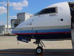 新潟→伊丹、FW74/NH3174便、搭乗メモ。その前に・・・バスと空港見学。