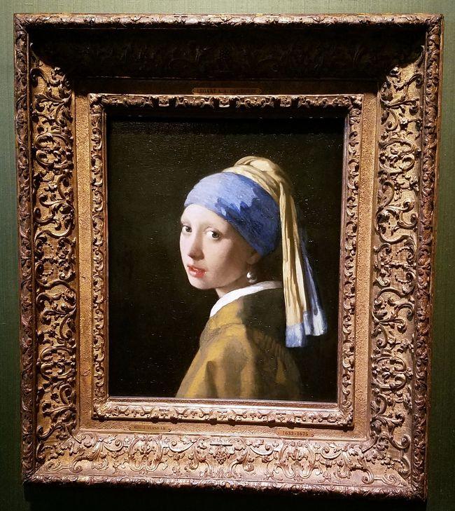 フェルメールを観るためにデンハーグへ。これを観たくてオランダに来たといっても過言ではありません。今年2019年は、レンブラント没後350年ということで、アムステルダム国立美術館もそうでしたが、ここもレンブラントの特別展をやっていました。