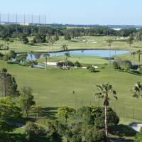 今日のお宿はリゾートホテル。でも、ゴルフ客用のホテルになっていて、期待はずれでした。