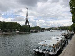 フランス3泊5日一人旅2日目② シャンゼリゼ通り~セーヌ河~エッフェル塔