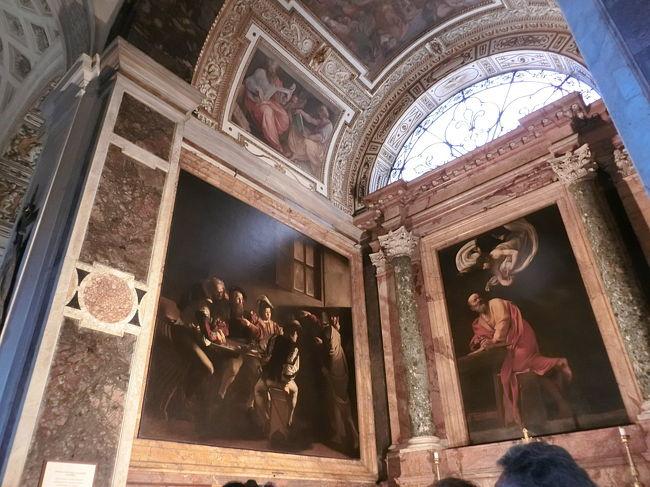 ローマの教会で見ることのできる、カラヴァッジョ作品についてご紹介します。