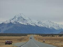 2019年GW 上海経由ニュージーランドの旅 ブカキ湖を見ながらアオラキへ