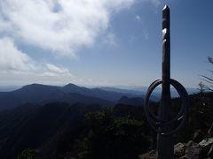 八経ヶ岳登山(備忘録) 2016秋