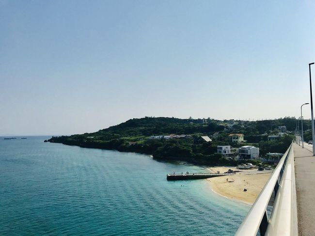 令和最初の沖縄旅行。アクティブに動いた旅行でした。まずは瀬底島。