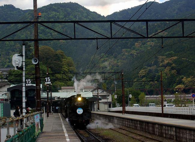 大型10連休の次の日 マイカーでの旅<br />1日目 島田の蓬莱橋から千頭へ走りSLを見て川根で一泊