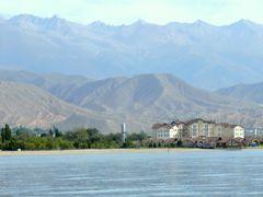 中央アジアの旅 第3日目 イシク・クル湖畔滞在