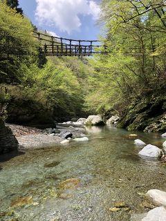 平成から令和へ。2019年GWの四国の旅【6】晴れたーー!!西祖谷のかずら橋と奥祖谷の二重かずら橋