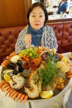 バルト海沿岸5カ国周遊10日間の旅(4) タリンク・シリアラインのセレナーデ号でシーフードを食べながらストックホルムへ向かう。