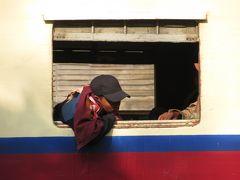 マンダレーからゴッティ鉄橋を渡ってシーポーまで鉄道の旅(2018年12月ミャンマー)