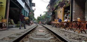 ベトナム3年ぶり!ハノイ旧市街は暑かった!