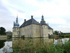 2013年秋のドイツ7:ミュンスター地方の典型的な水城レンベック城は古城ホテル