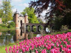 2019GW ベルギー・オランダ一人旅⑥【ブリュッセル2 花のグランビガール城・ワッフル・ビール】編