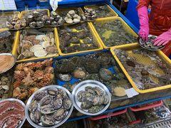週末土日に対馬から船で釜山へ(2)プサンに移動して海鮮味わって帰国編