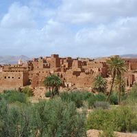忘れられないモロッコの旅 8.エルフードからカスバ街道を通りワルザザートへ