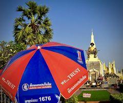 おおっ...むか~し、昔のタイの香りがプンプン残るラオス人民民主共和国#11(チャリで凱旋門/ヴィエンチャン/ラオス)