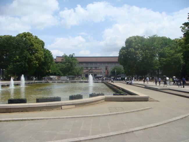 5月18日は国際博物館の日で、多くの博物館で入場が無料に。<br />上野で色々な博物館に行きました。