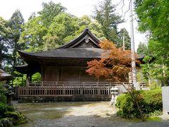 徳島高知ドライブ旅行15ー国宝豊楽寺薬師堂,もどって徳島 脇町に