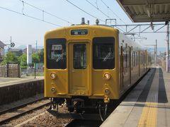 初夏の山陽・四国旅(12)JR福塩線に乗って駅からお城が見える福山へ