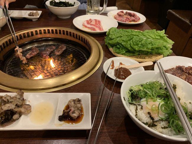 平成最後の夜は、どうしようか、考えたあげく<br />綱島の 牛角 で 焼肉決定。 <br />食べ放題にしたんだけど<br /><br />お昼食べ過ぎて 食べれなかったんだなぁ・・・