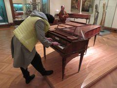 ウィーン滞在9回目(3.古楽器博物館と楽友協会でフォルテピアノ奏者を聴く)
