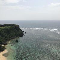 GW、二十数年ぶりの沖縄!まだ観光客も少ないパワースポット、果報バンタの絶景に感動!!(移動日編)