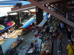 13年ぶりの2度目のバンコクは海外2度目の友人と・・・メークロン鉄道市場・水上マーケット・帰国