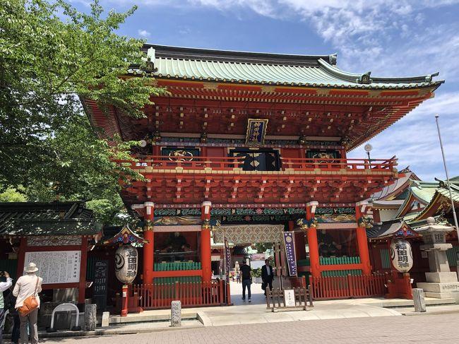 お天気が良かったので、湯島天神から神田明神までぶらりと出かけました。<br />大好きなこの界隈はまだまだ新たな発見があります。
