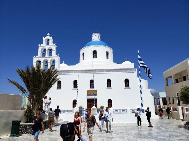 アテネから日帰りでサントリーニ島へ行ってみました★ターキッシュエアラインで行くアテネ・サントリーニ島2