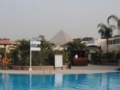 GWはエジプトへ! まずはカイロへ! その4 Steigenberger Pyramid Hotel にチェックイン!