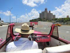 ハバナ(2日目)クラッシクカー&クラブトロピカーナ(メキシコ・キューバ カラフルの旅3~5日目)