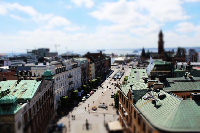 Fredriksdalの後は、ヘルシングボリの街を散策。<br />お天気が良くなってきて嬉しい!<br />時間があればフェリーでデンマークに行くのも良いね~と話していたけど、<br />ゆっくり出来そうにないので今回は断念。